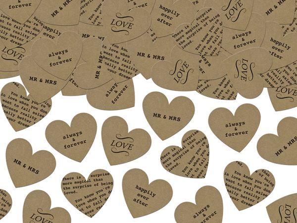 Deko und Geschenke Shop Konfetti Herzen