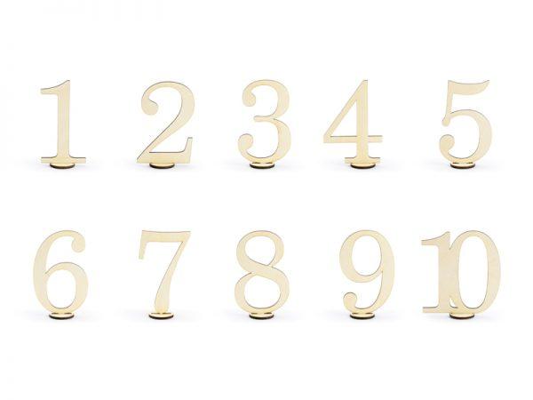 Deko und Geschenke Shop Holztischnummern