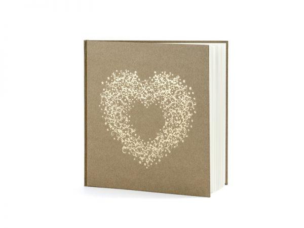 Deko und Geschenke Shop Gästebuch Kraftpapier