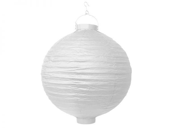 Deko und Geschenke Shop Lampion Weiß 30cm