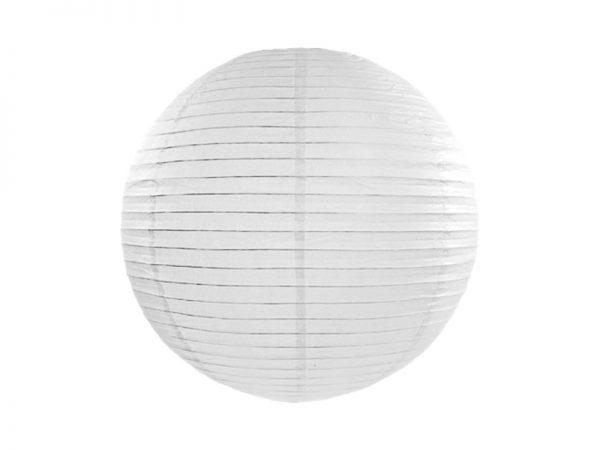 Deko und Geschenke Shop Lampion Weiß 25cm
