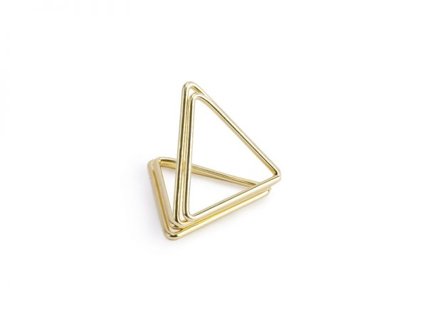 Deko und Geschenke Shop Tischkartenhalter Dreiecke