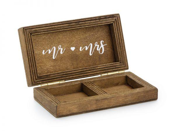 Deko und Geschenke Shop Eheringschachtel aus Holz