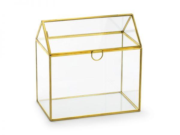 Deko und Geschenke Shop Glas-Geschenkkartenbox