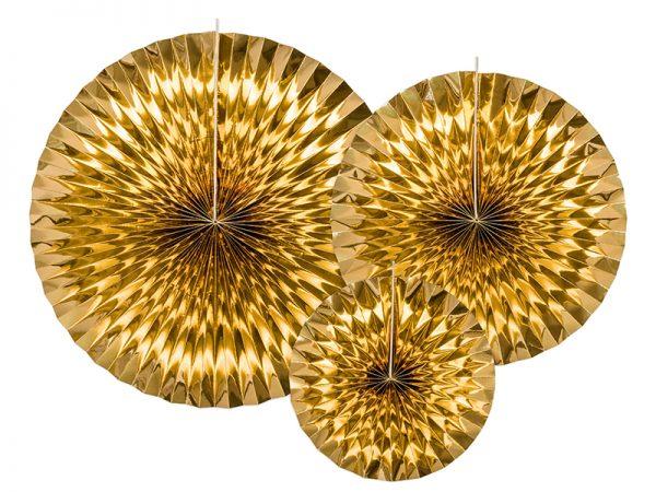 Deko und Geschenke Shop Dekofächer Gold