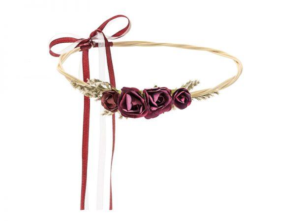 Deko und Geschenke Shop Blumenkranz rot