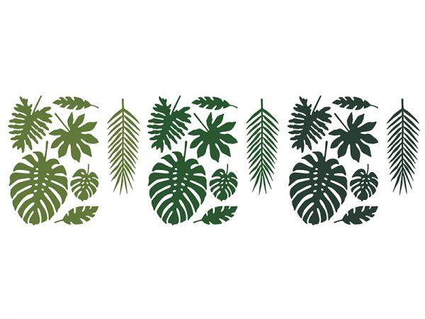 Deko und Geschenke Shop Dekoration Aloha - Tropische Blätter