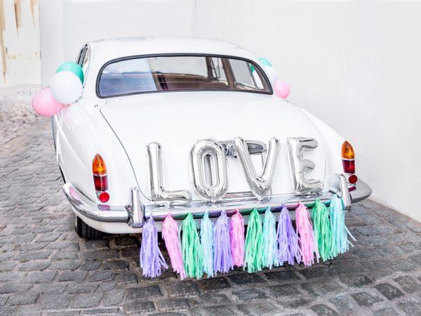 Autoschmuck Hochzeit Autoschmuck-Set - Love