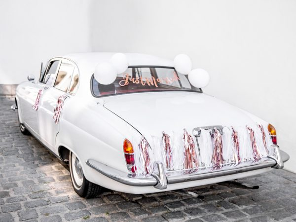 Autoschmuck Autodekorationsset - Just Married