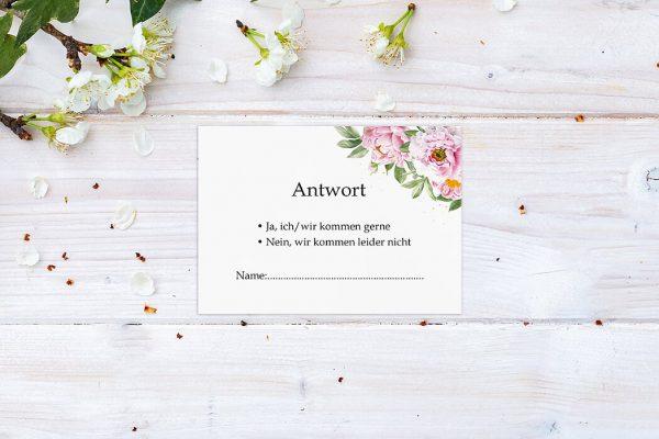 Antwortkarten zur Hochzeit Laubfall Spielerisch Antwortkarten