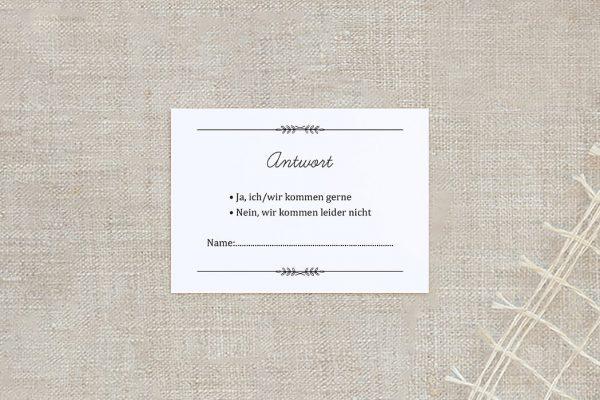 Antwortkarten zur Hochzeit Fotoglück Total Antwortkarten
