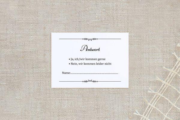 Antwortkarten zur Hochzeit Fotoglück Fotoglück Blättchen Antwortkarten