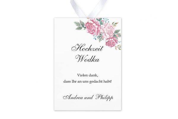 Aufkleber und Anhänger Hochzeit Blumenherz Blumenecke Aufkleber & Etiketten Hochzeit