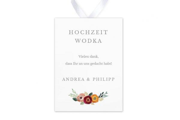 Aufkleber und Anhänger Hochzeit Blumenbeet Sorglos Aufkleber & Etiketten Hochzeit