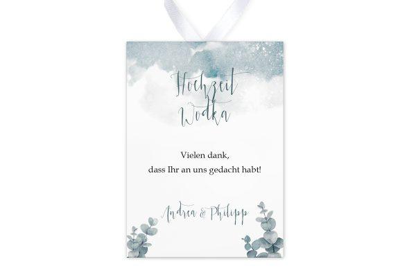Aufkleber und Anhänger Hochzeit Palmen dunkel Aufkleber & Etiketten Hochzeit