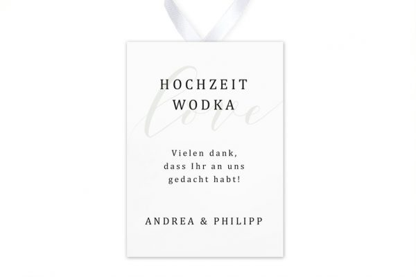 Aufkleber und Anhänger Hochzeit Horizont Unerschöpflich Aufkleber & Etiketten Hochzeit