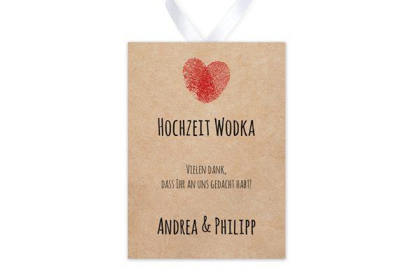 Aufkleber und Anhänger Hochzeit Fingerabdruck Liebeserklärung Aufkleber & Etiketten Hochzeit