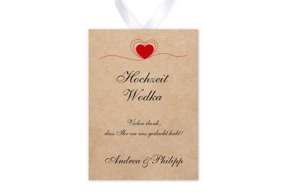 Aufkleber und Anhänger Hochzeit Fingerabdruck Herzensding Aufkleber & Etiketten Hochzeit