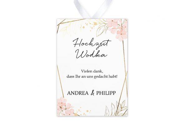 Aufkleber und Anhänger Hochzeit Floral Elegant Blumenzeichnung Aufkleber & Etiketten Hochzeit