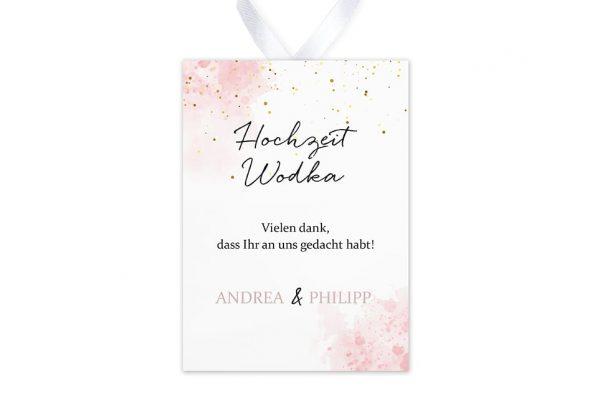 Aufkleber und Anhänger Hochzeit Morgenröte Unbeschwert Aufkleber & Etiketten Hochzeit