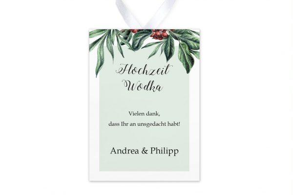 Aufkleber und Anhänger Hochzeit Tropical Sorbus aucuparia Aufkleber & Etiketten Hochzeit