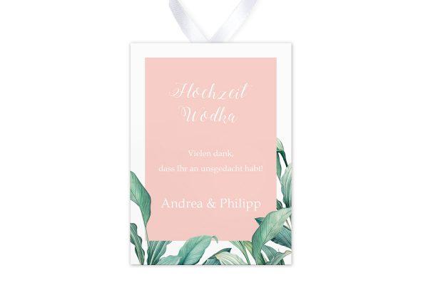 Aufkleber und Anhänger Hochzeit Tropical Topisch wild Aufkleber & Etiketten Hochzeit