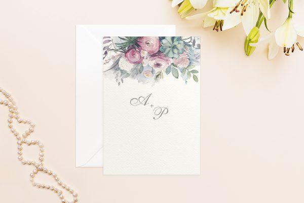 Hochzeitseinladungen Hochzeitseinladungen Aquarell Klassisch