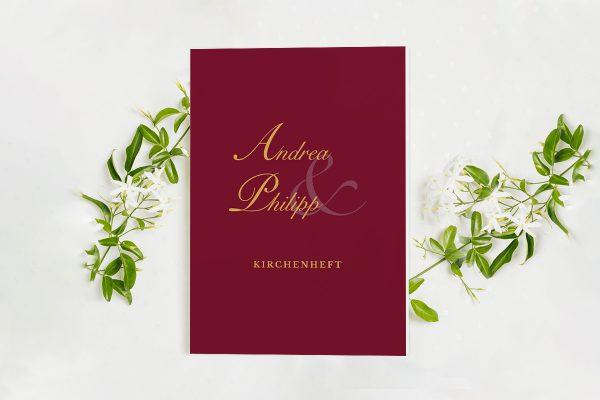 Extras Fotoglam Forever  Kirchenheft Hochzeit