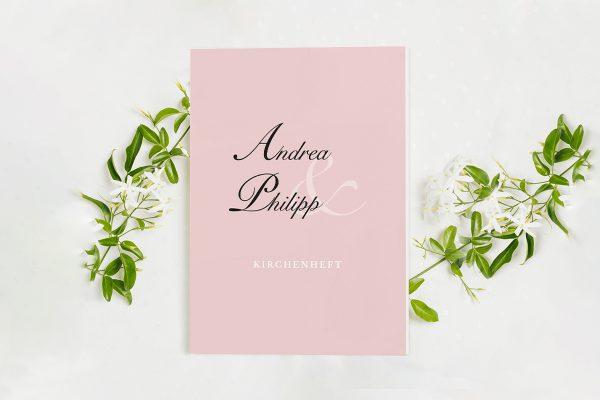 Extras Fotoglam Endless Kirchenheft Hochzeit