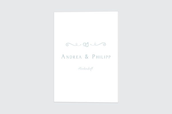 Extras Tender Love  Rings of Love Kirchenheft Hochzeit