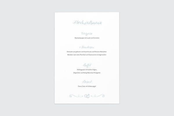 Dankeskarten zur Hochzeit Tender Love  Rings of Love Dankeskarten