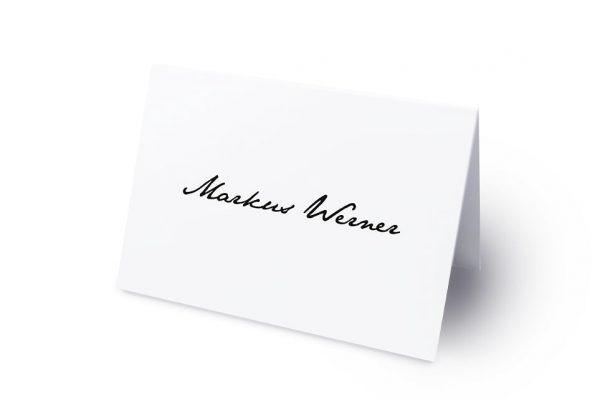 Extras Kalligraphie Handschriftlich Namenschilder & Tischkarten Hochzeit