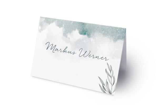 Extras Palmen verträumt Namenschilder & Tischkarten Hochzeit
