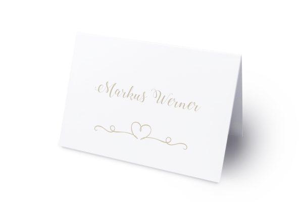 Extras Tender Love  Liebe Namenschilder & Tischkarten Hochzeit