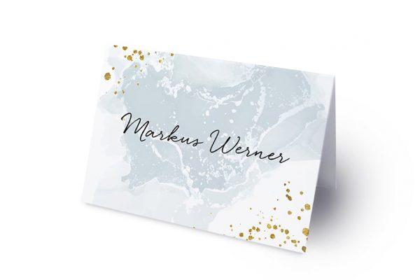 Extras Himmel Tiefblau Namenschilder & Tischkarten Hochzeit