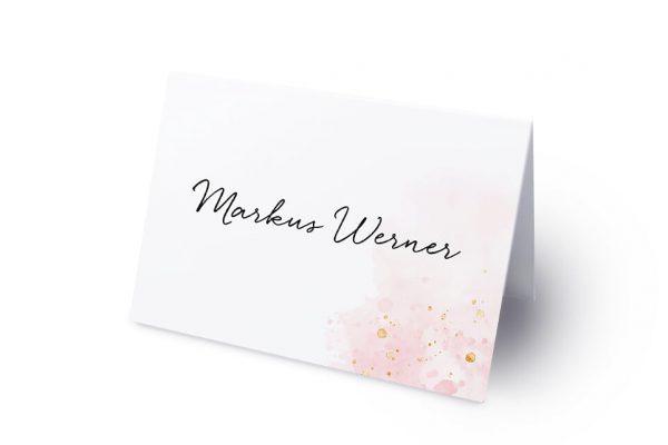Extras Morgenröte Beeindruckend Namenschilder & Tischkarten Hochzeit