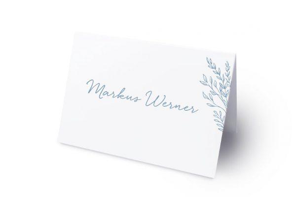 Extras Rosenpracht mit Gräsern Namenschilder & Tischkarten Hochzeit