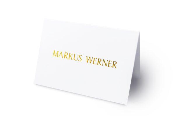 Extras Prachtvoll harmonisch Namenschilder & Tischkarten Hochzeit