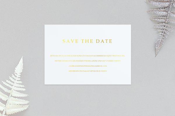 Save the Date-Karten Prachtvoll strahlend Save the Date Karten