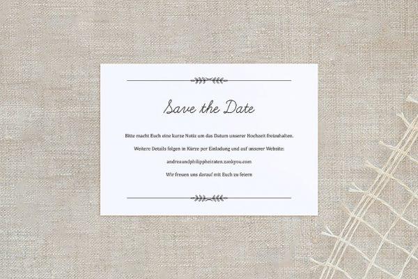 Save the Date-Karten Fotoglück Total Save the Date Karten