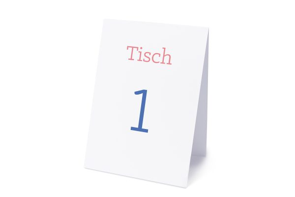 Extras Klassich Cool Tischnummern