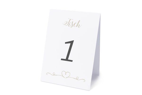Extras Tender Love  Liebe Tischnummern