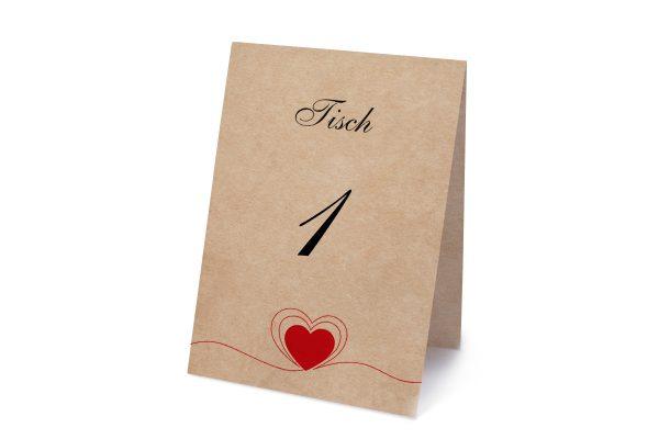 Extras Fingerabdruck Herzensding Tischnummern