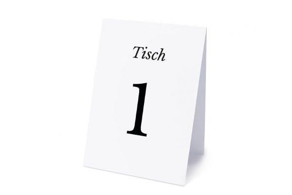 Extras Modern Zeitgenössisch Tischnummern