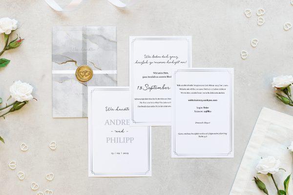Hochzeitseinladungen Hochzeitseinladungen Batik Mittelalterlich