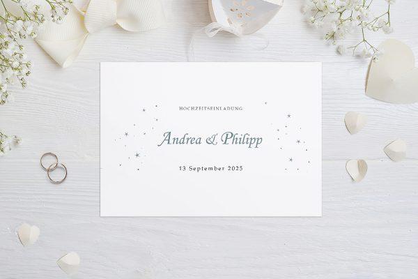 Hochzeitseinladungen Hochzeitseinladungen Klassisch Natürlich