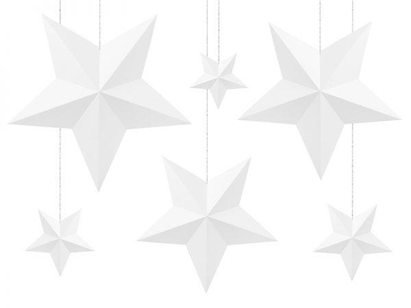 Deko und Geschenke Shop Deko-Sterne Weiß