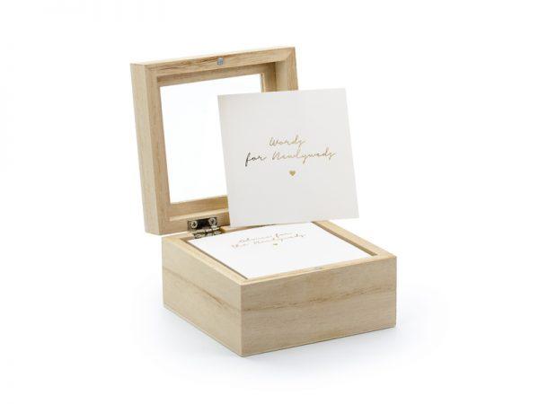 Deko und Geschenke Shop Gästebuch - Hochzeitsratgeberbox