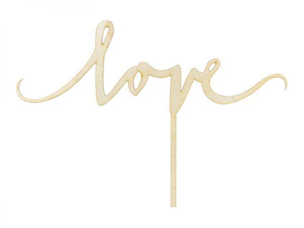 Deko und Geschenke Shop Holztopper Love