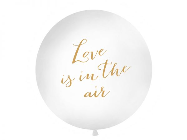 """Deko und Geschenke Shop Riesenballon 1 m """"Love is in the air"""""""